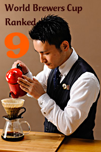 World Brewers Cup Ranked # 9
